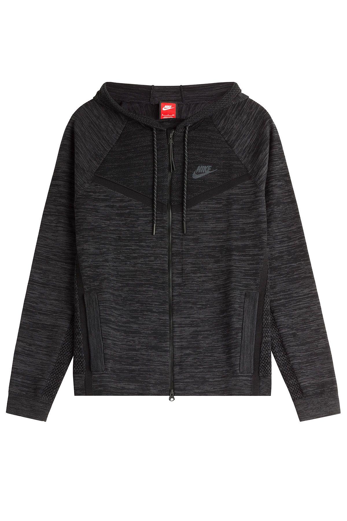 Mélangé En Sweat Luxe Capuche De Nike Mode Coton Zippé La À qapUZ