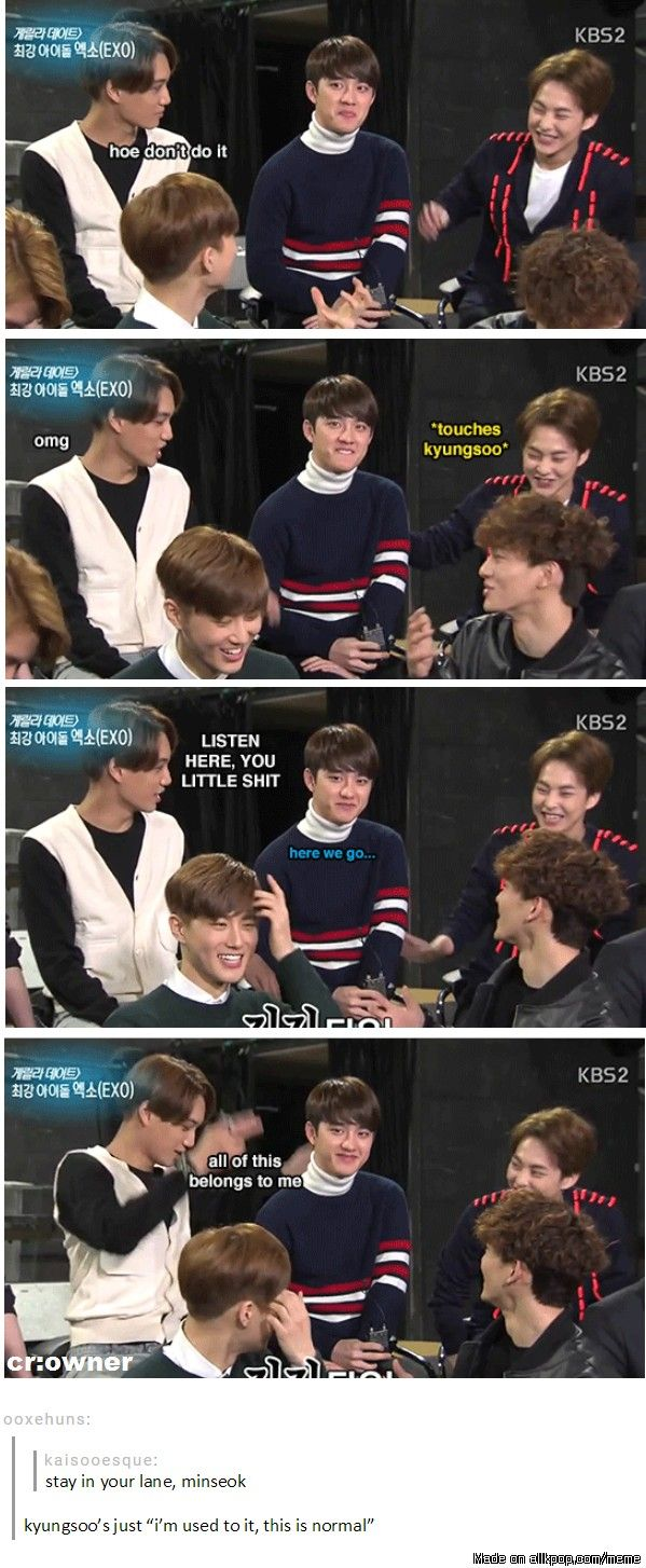 Even the oldest hyung cannot escape the jealous husband that is Kim