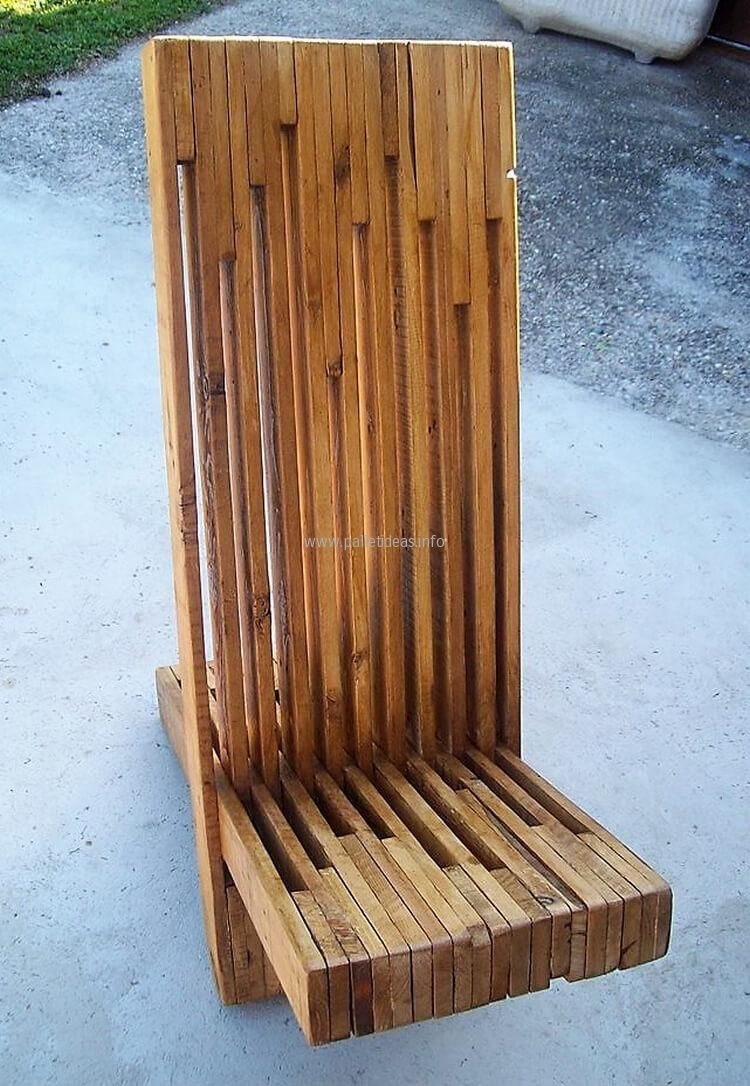 reclaimed wood pallet bench. Artistic Wood Pallets Chairs And Table Reclaimed Pallet Bench M