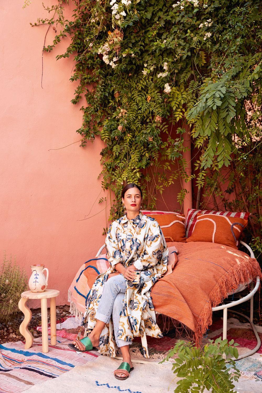 Op interieurbezoek bij Laurence Leenaert in Marrak