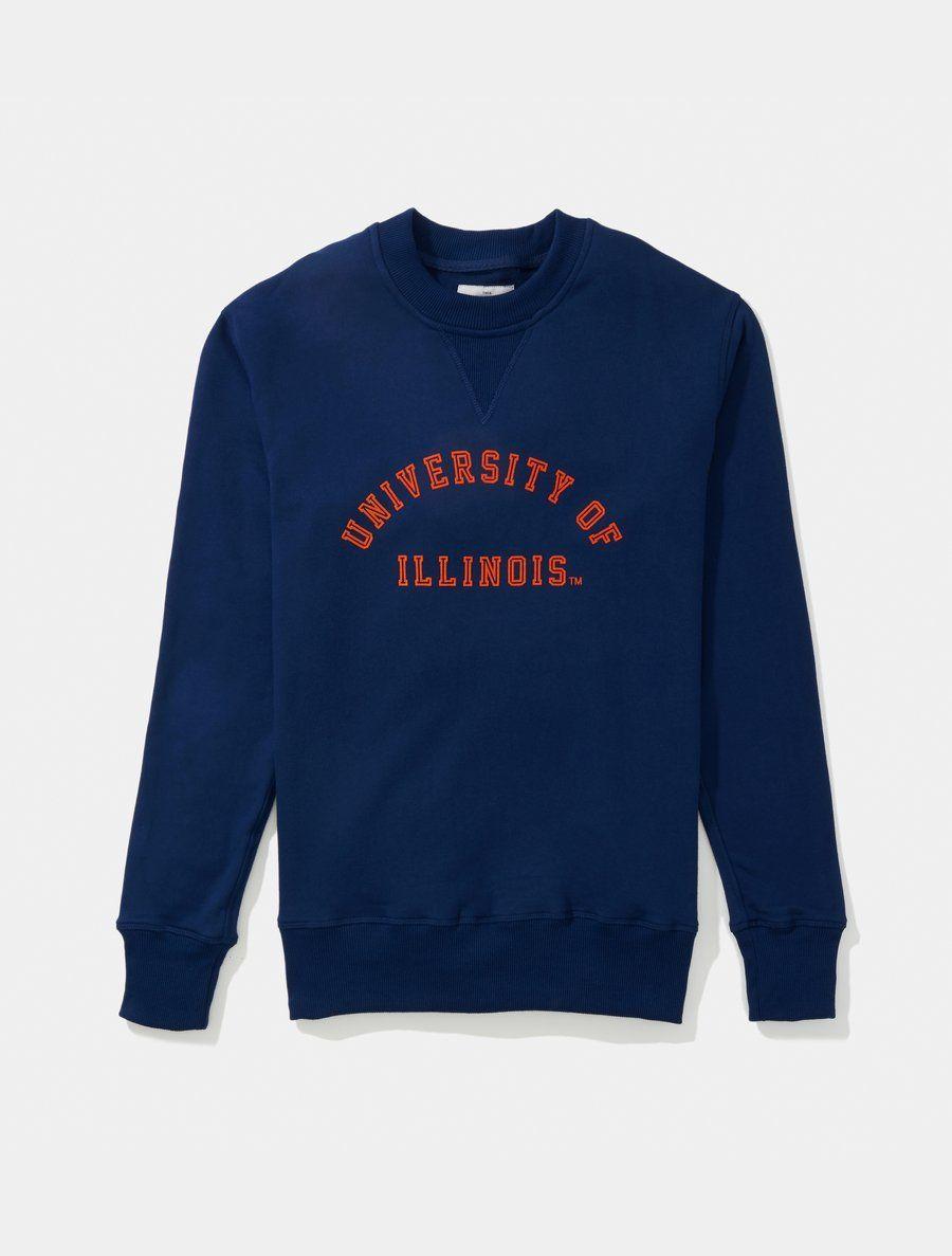 Illinois Classic Crewneck Sweatshirt Sweatshirts Vintage College Sweatshirts Crew Neck Sweatshirt [ 1187 x 900 Pixel ]