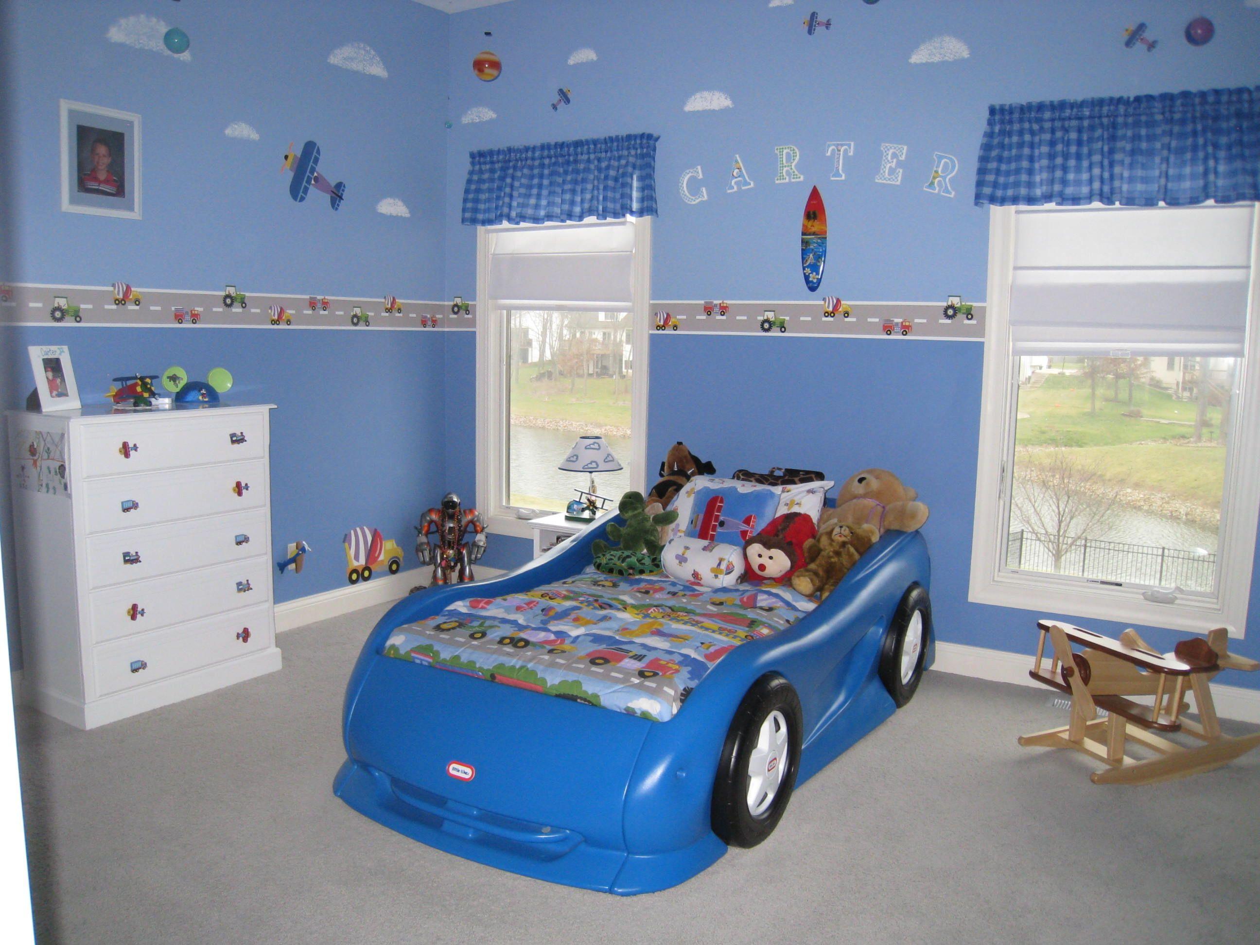 Best Car Plane And Train Themed Bedroom Boys Car Bedroom 640 x 480