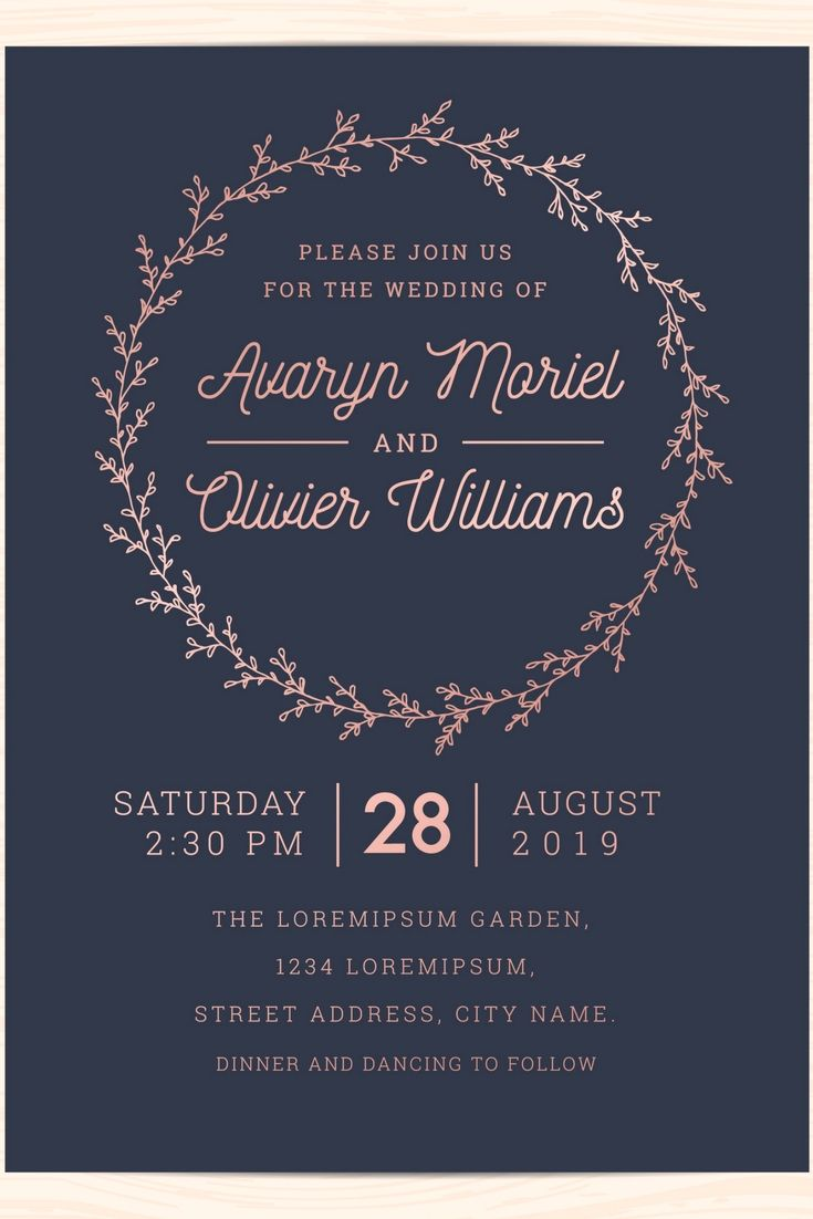 Elegant And Professional Wedding Invitations Design Online