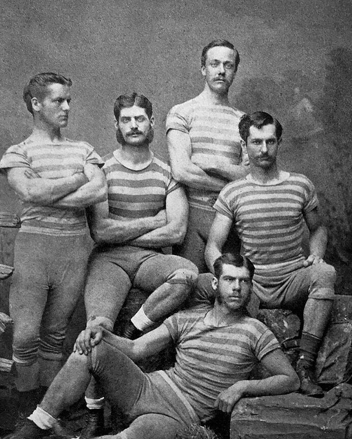 Columbia College Four, Winners of the Visitors' Challenge Cup, Henley Royal Regatta, 1878