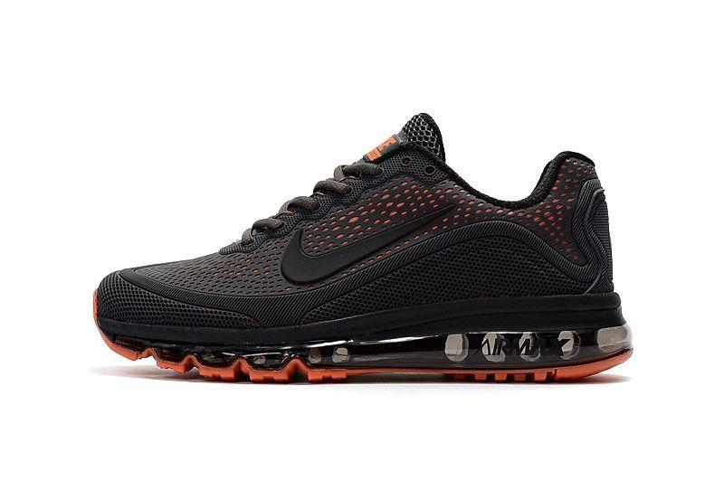 0e03591497 Men s Nike Air Max 2018 Elite KPU TPU Shoes Black Red  1-1710AXMM-8  -   79.00