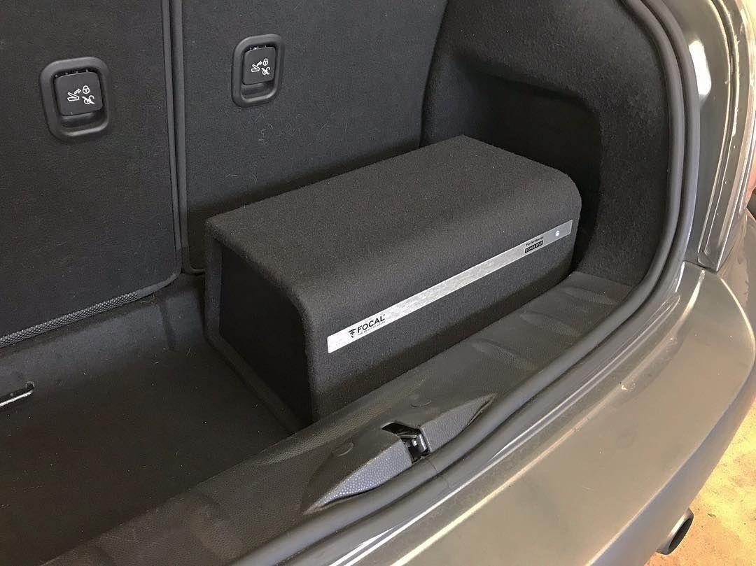focal bomba bp20 active 8 subwoofer installed into 2010. Black Bedroom Furniture Sets. Home Design Ideas
