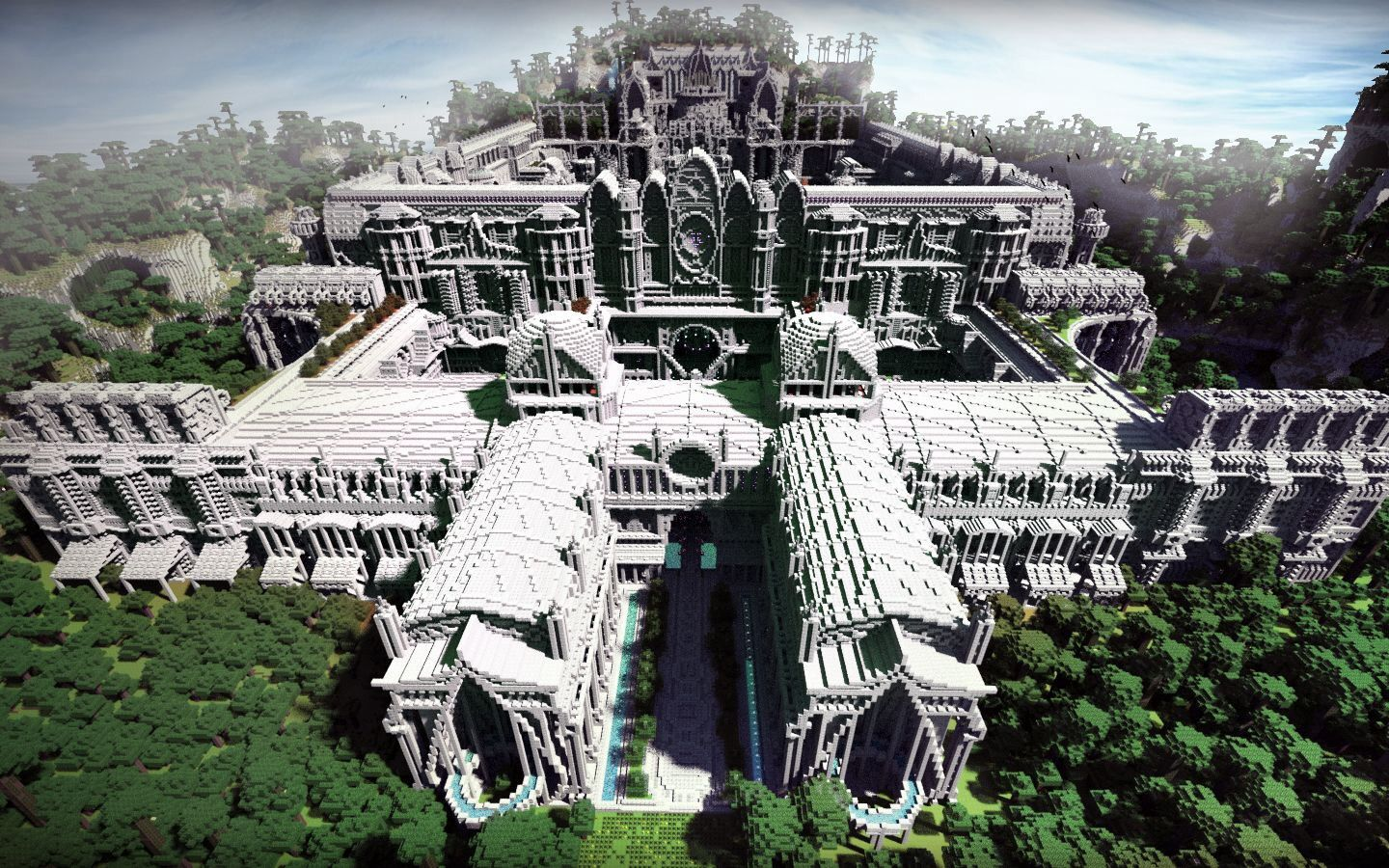 how to build a castle in minecraft pe fast