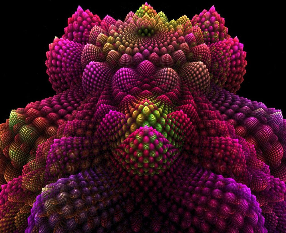 Famous Fractals Beautiful 3d Digital