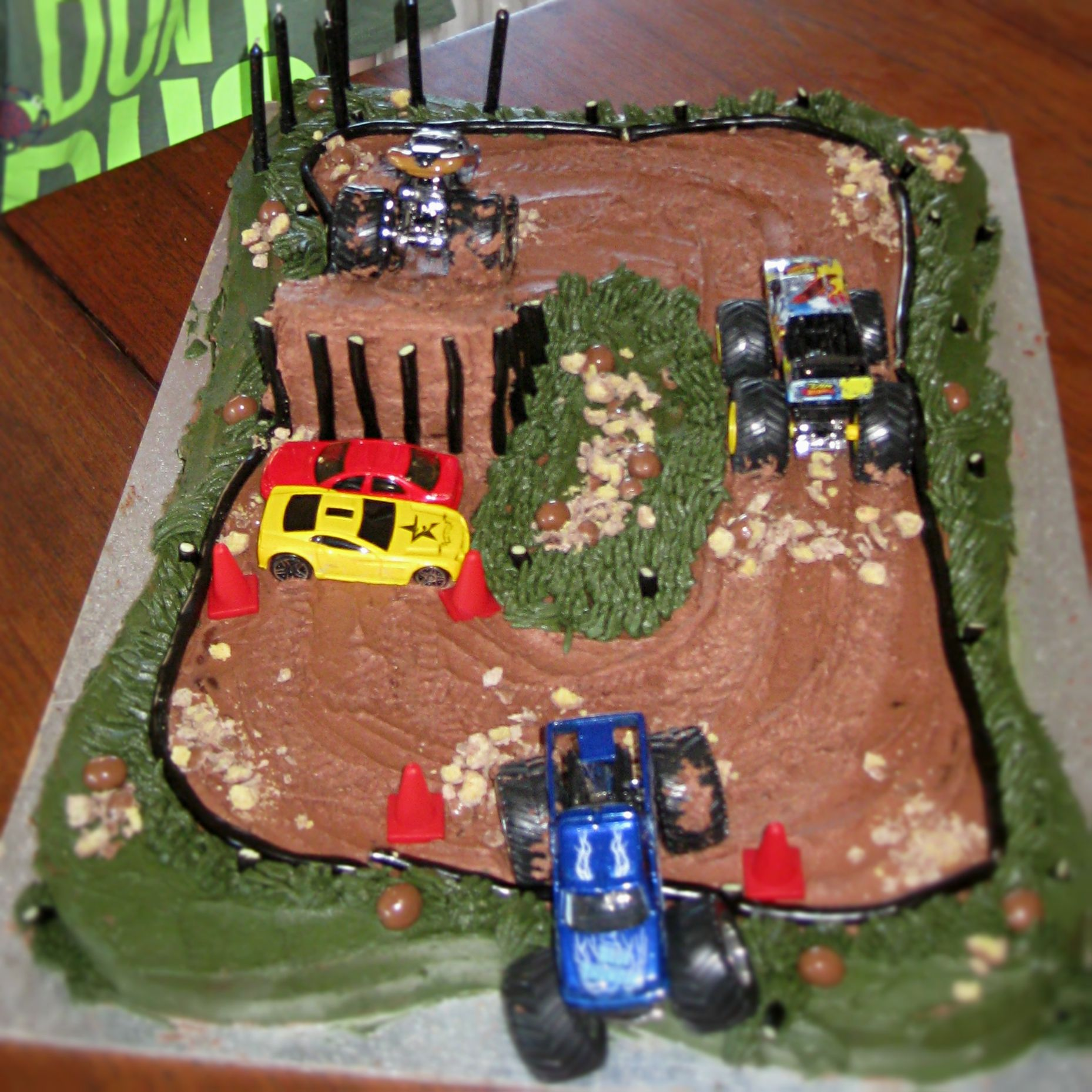 6 Year Old Boy Birthday Cake Ideas Monster Truck For My