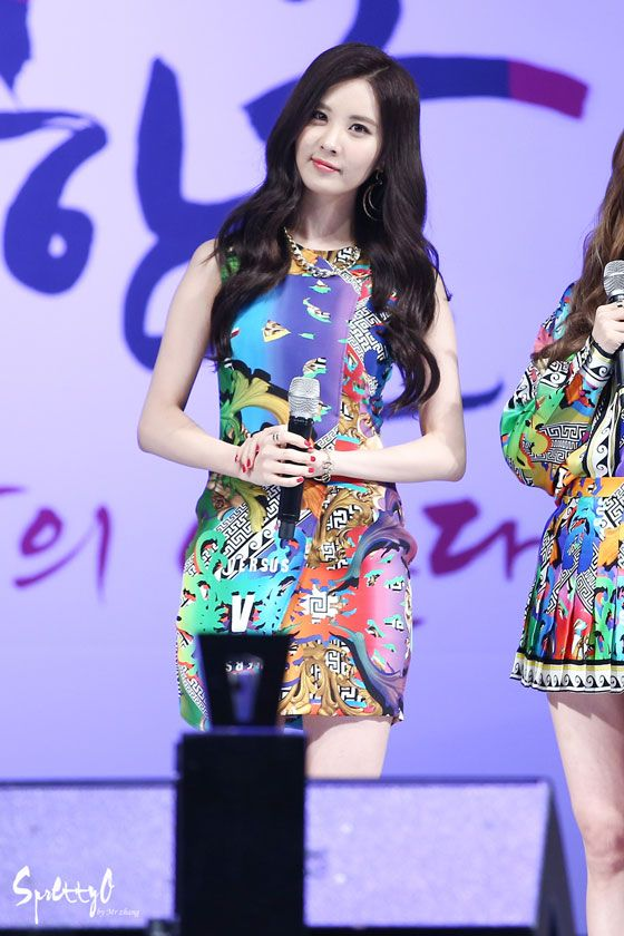 SNSD Seohyun Lee Sora Music Plaza show
