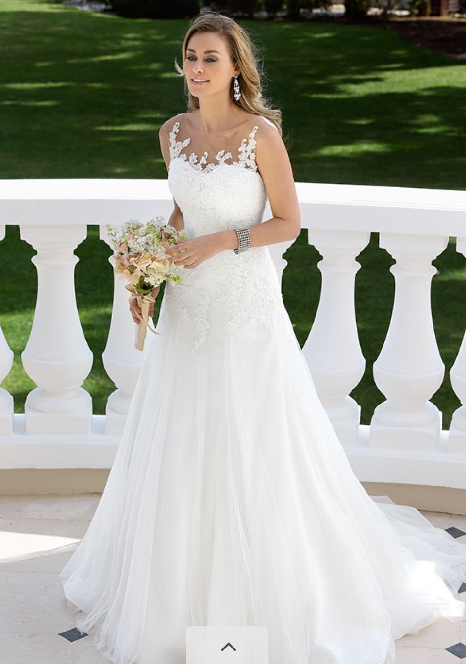 Dress 3 different side | Wedding dress | Pinterest | Brautkleid ...