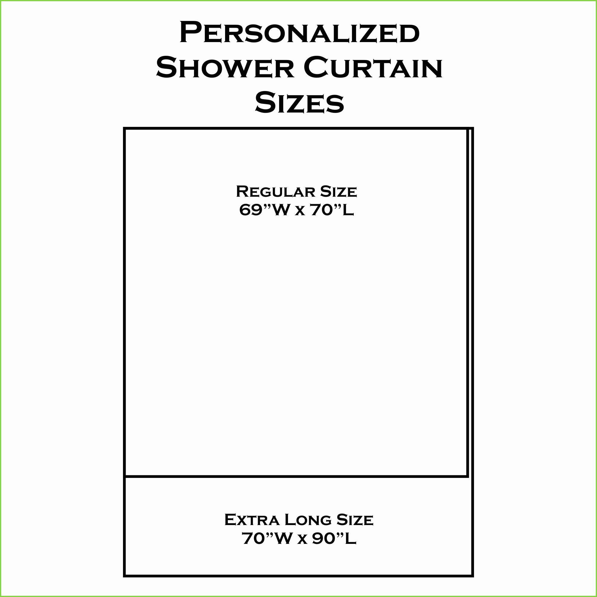 Fine 12 Smart Designs Of How To Build Standard Size Shower Curtain