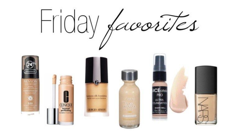Friday favorites foundations lindsay makeup oil free