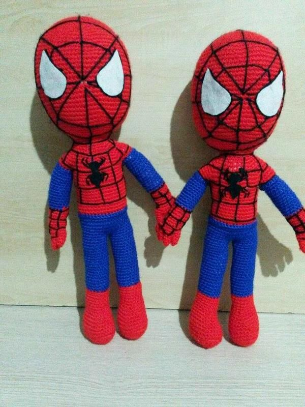 Amigurumi Örgü Oyuncak Örümcek Adam Yapılışı