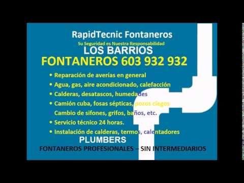 Fontaneros Los Barrios 603 932 932 baratos