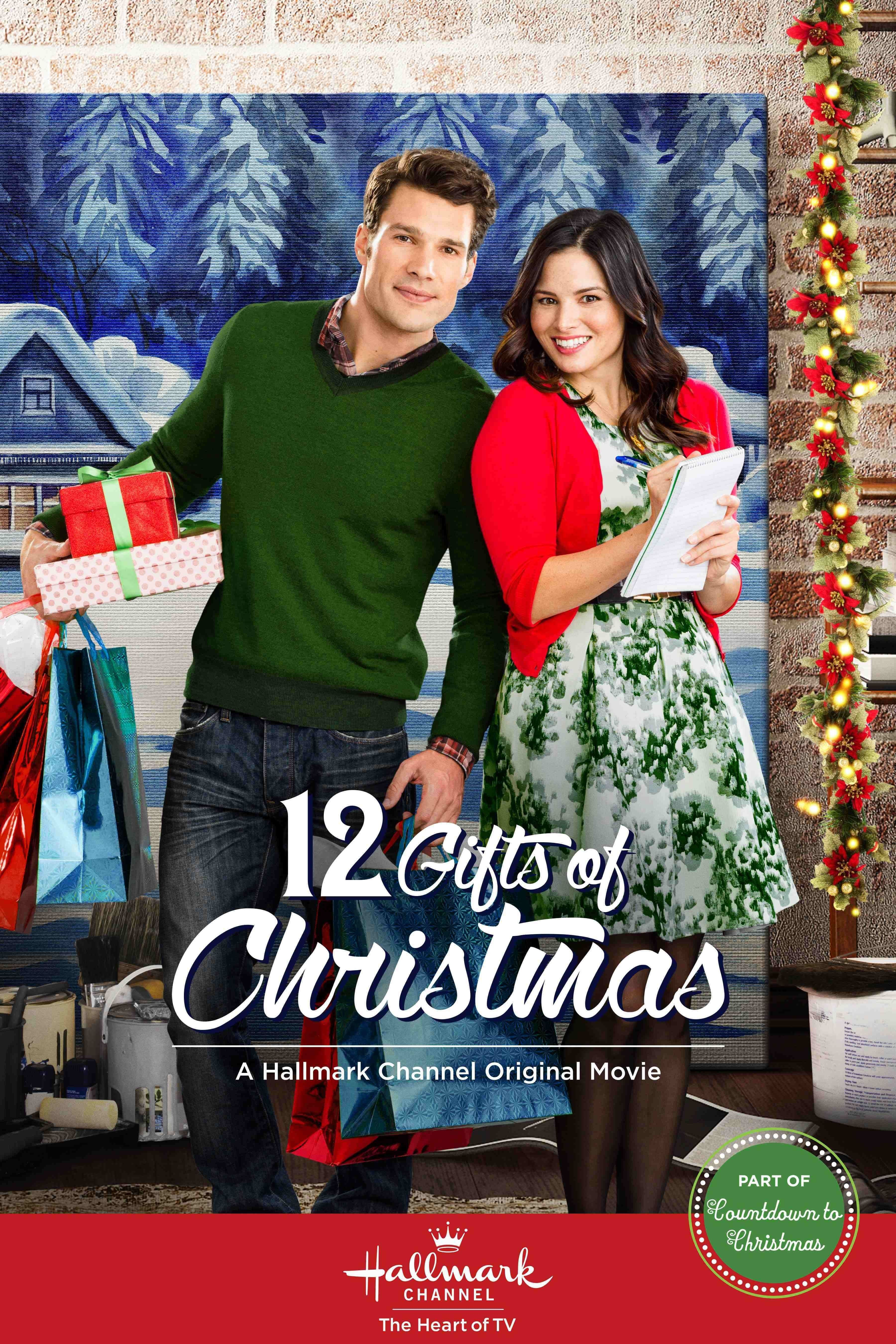 12 gifts of christmas movie posters