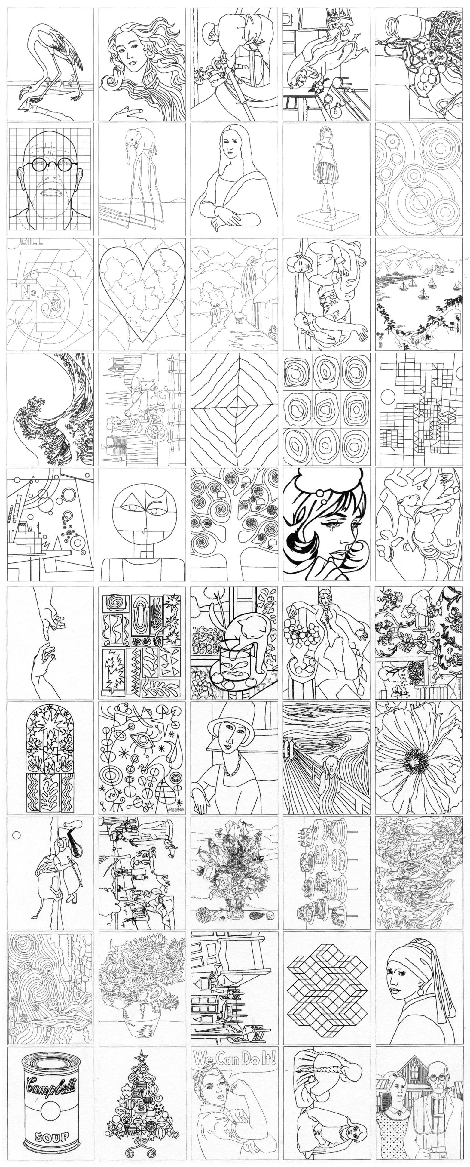 Fine Art Coloring Ebook Art Projects For Kids Artideas