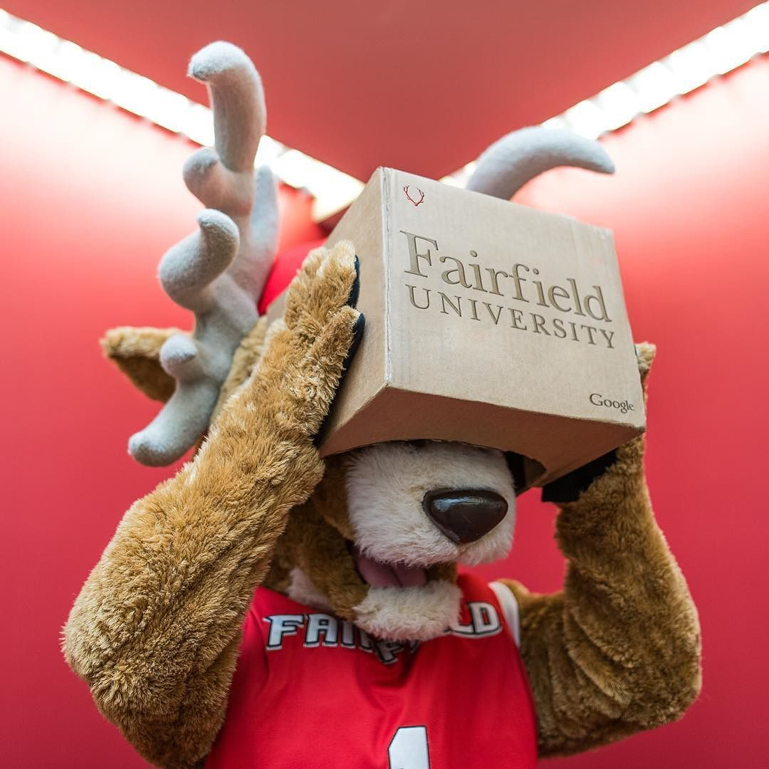An awesome Virtual Reality pic! It's #LucasOnTheLoose in virtual reality! @google with the help of First Lady Michelle Obama has announced their new education initiative #GoogleExpeditions a #virtualreality platform built for the classrooms making it easy to immerse students in entirely new experiences. In late 2015 the Google Expedition team visited the Fairfield University campus to create the personalized Fairfield Expedition. #googlecardboard by fairfieldu check us out…