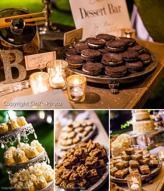 Wedding Dessert Bar Ideas #rustic #wedding #desserttable