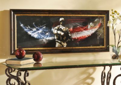 Great No Greater Love, Soldier Framed Print