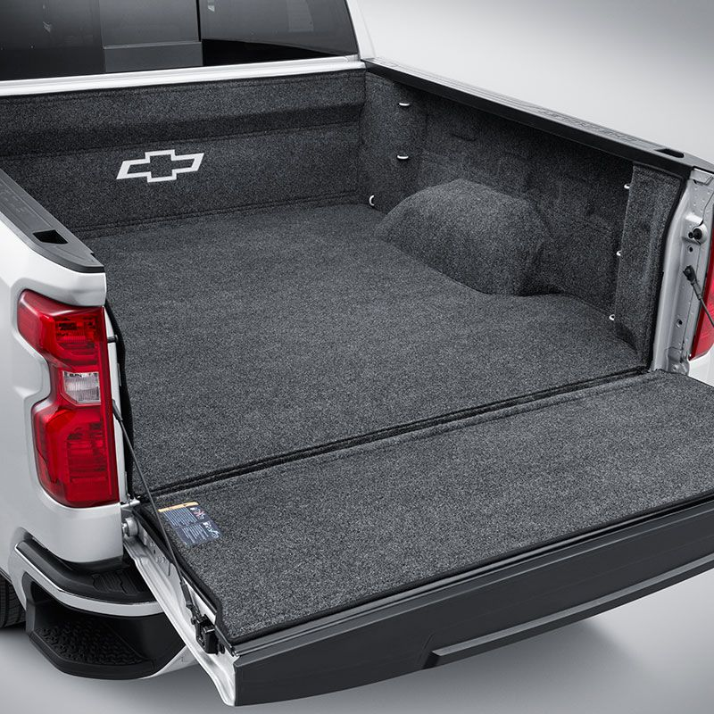 Help Protect Your Truck Bed Surface With The Chevrolet Accessories
