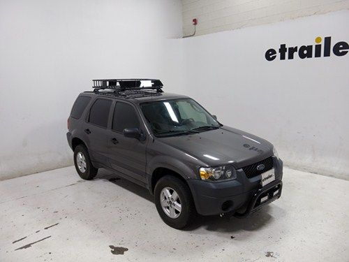 Curt Roof Mounted Cargo Basket 41 1 2 Long X 37 Wide X 4 Deep 150 Lbs Curt Roof Basket C18115 Cargo Carrier Roof Basket Cargo