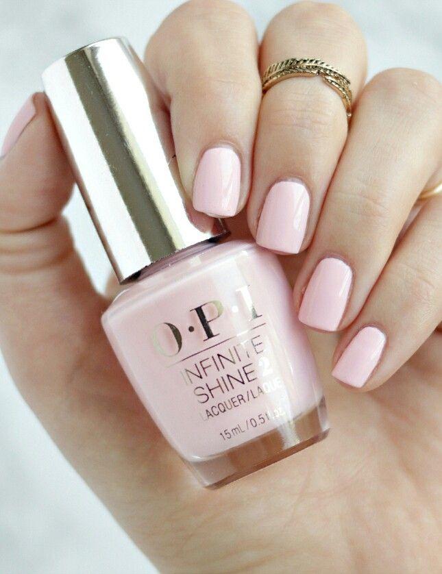OPI Infinite Shine Pretty Pink Preserves. I get so many
