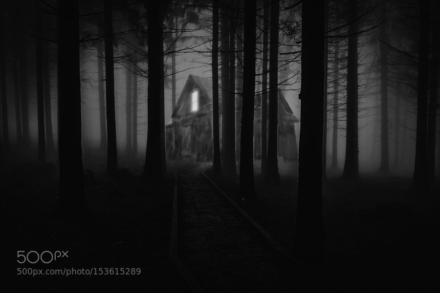 Haunted House Composite Practice by EoinWinters