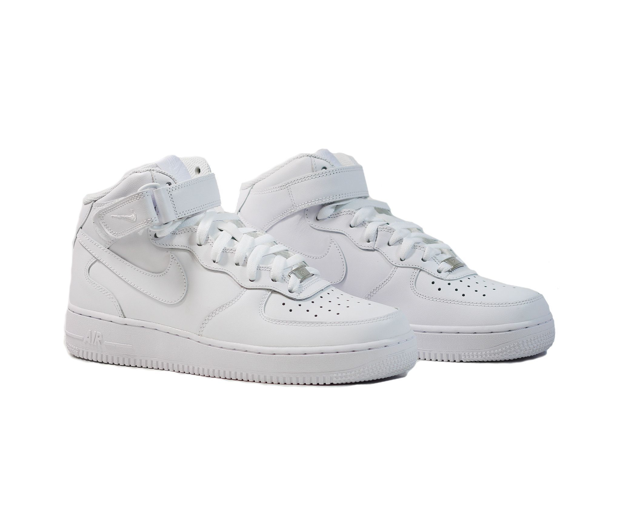pretty nice d9453 50349 nike air force 1 ones 1997 mid cl sc white metallic silver varsity red