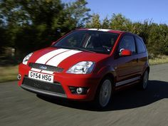 Ford Fiesta ST (2004 – 2005).  Why did this not make it to the US?
