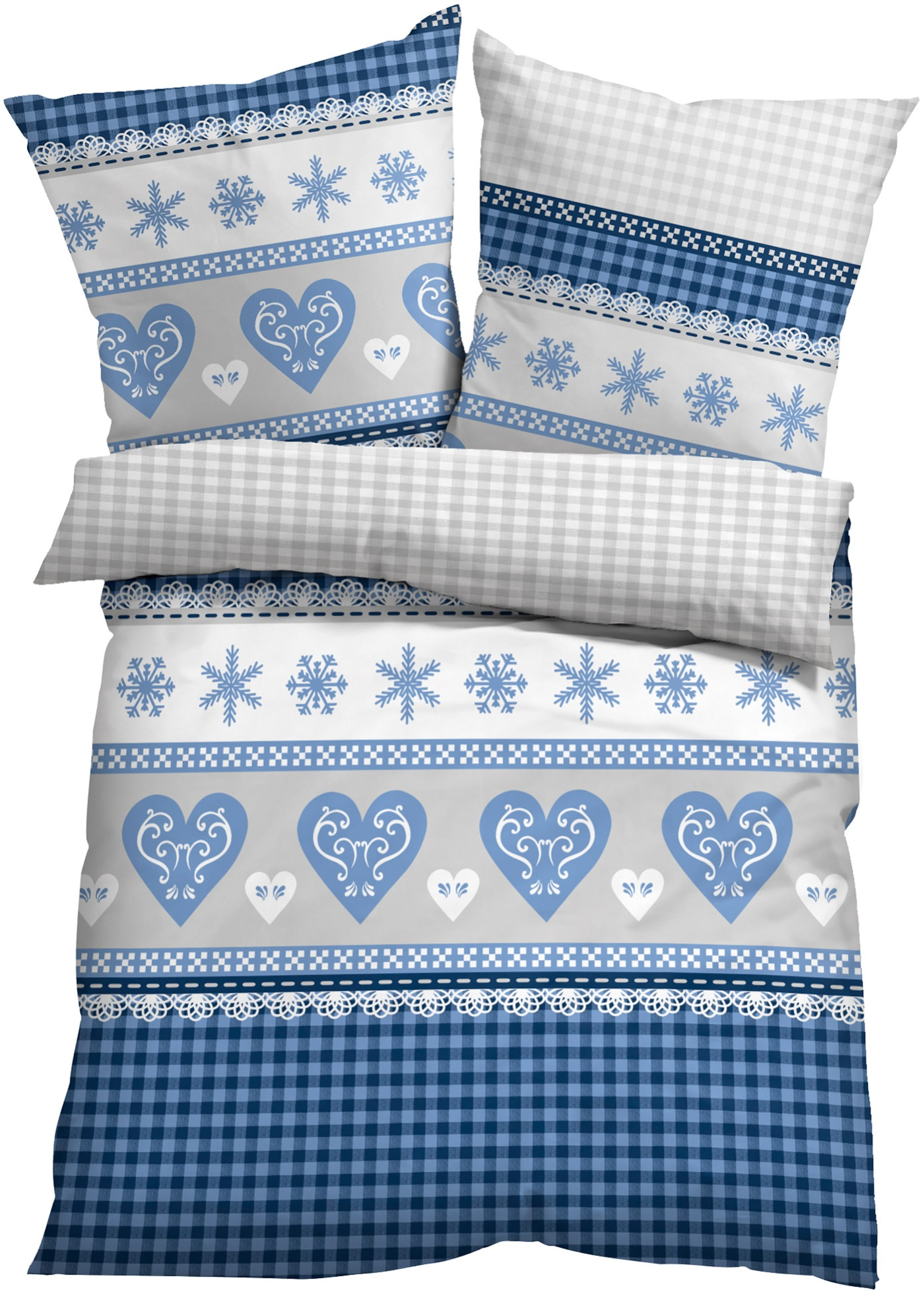 Bettwasche Yule Linon Bettwasche Bett Kissen Und Bett