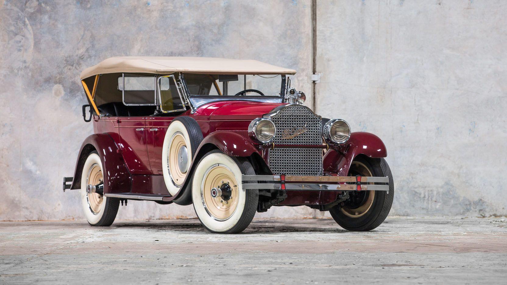 1928 Packard 526 Phaeton Packard Motor Car Company Detroit