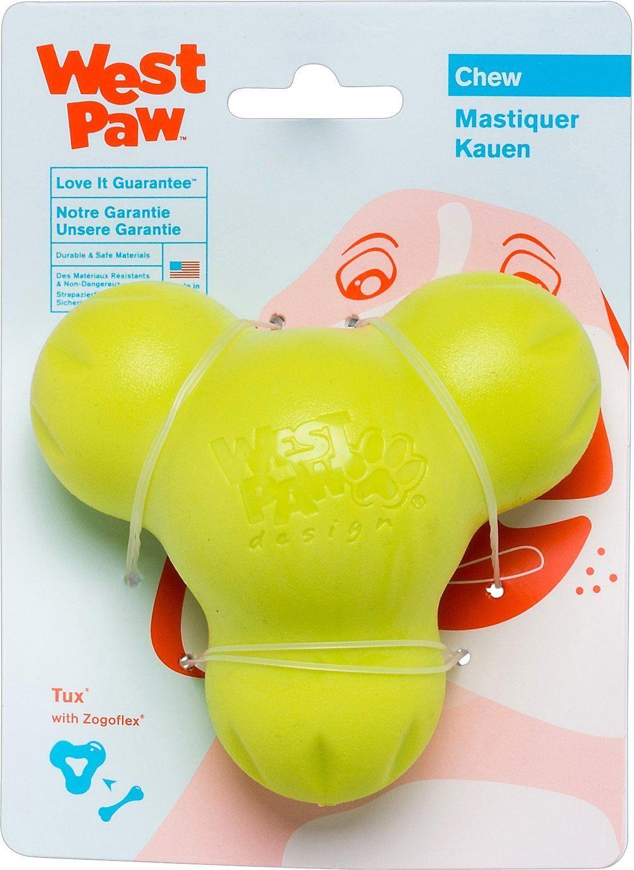 Tux Dog Chew Toy West Paw Best Dog Toys Dog Chew Toys Dog