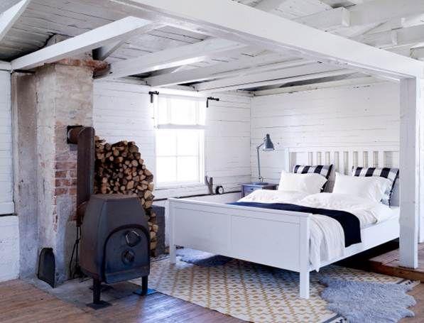 Furniture And Home Furnishings Scandinavian Style Bedroom Ikea Bedroom Furniture Hemnes Bed