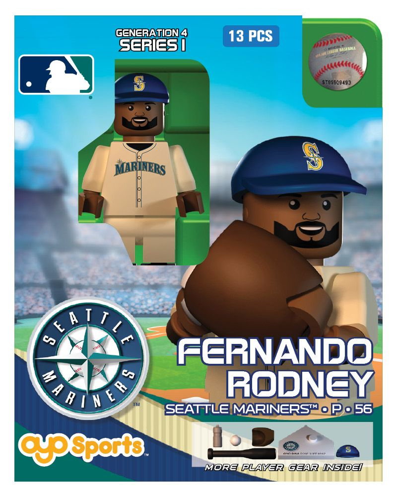 OYO Sports MLB Generation 4 OYO minifigures and Field