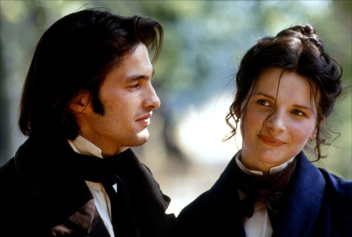 Oliver Martinez y Juliette Binoche en 'El Husar en el Tejado' 1995