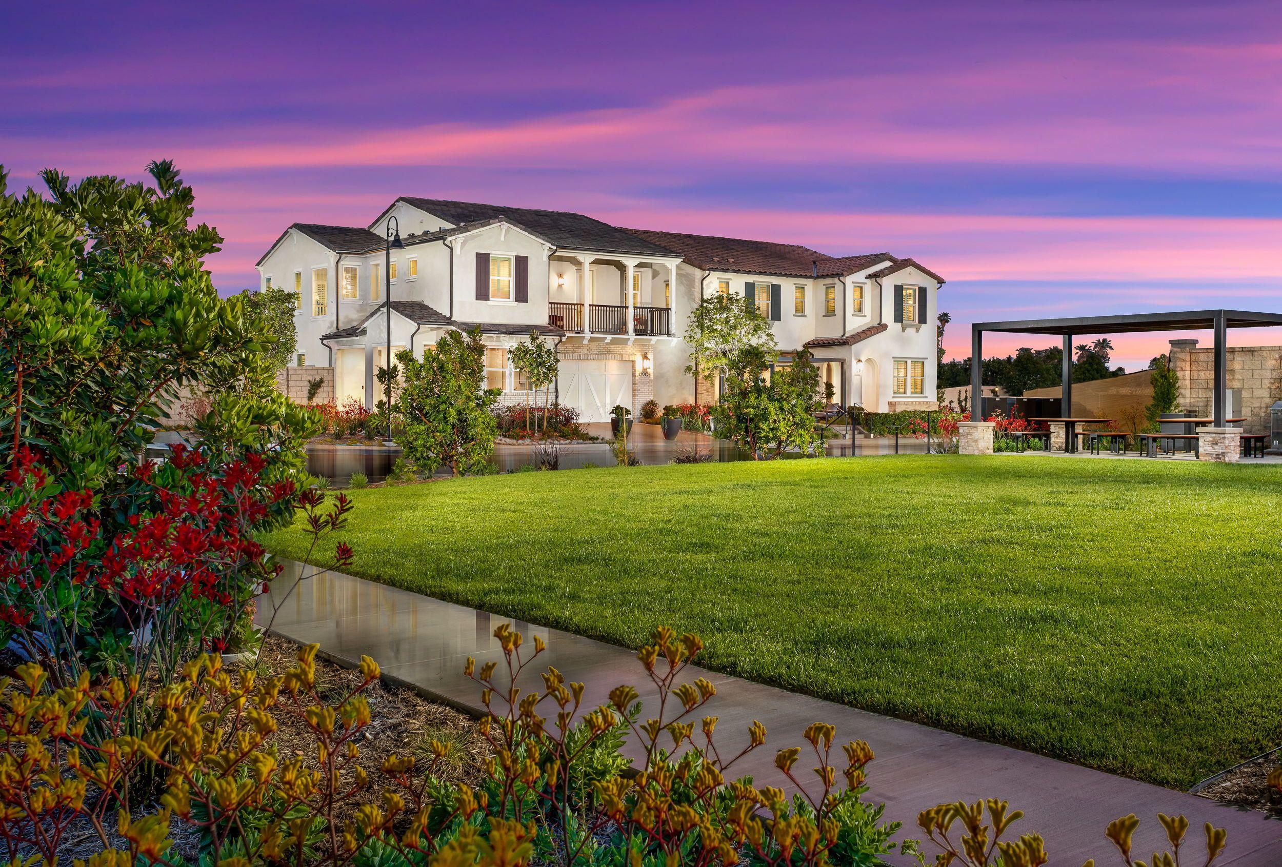 Gardenia Curb appeal, New home communities, Garden grove