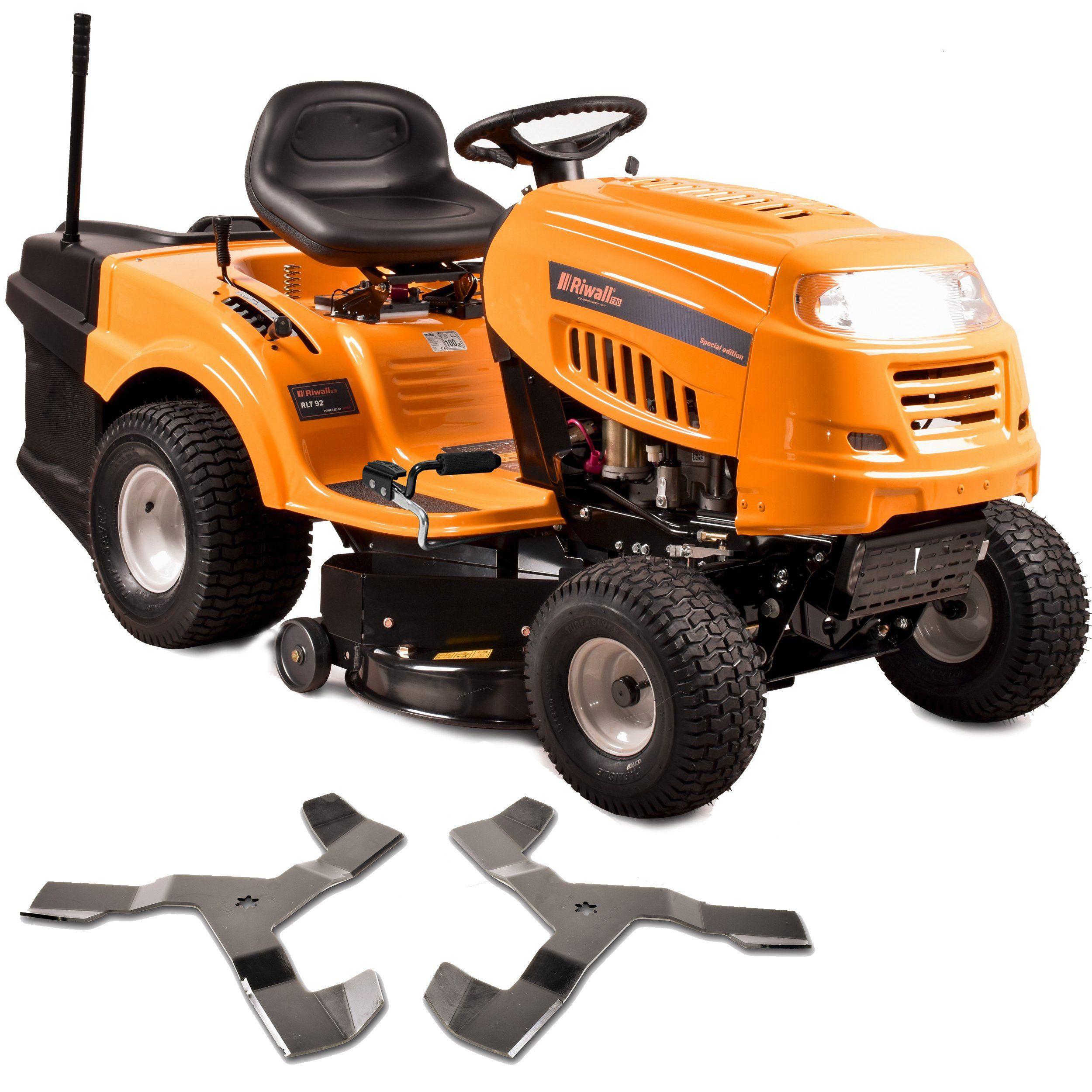 Traktorek Kosiarka Spalinowa Riwall 92h 22hp Km Ep Lawn Mower Riding Lawnmower Outdoor Power Equipment