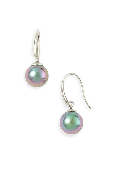 Majorica 10mm Pearl Drop Earrings Nordstrom