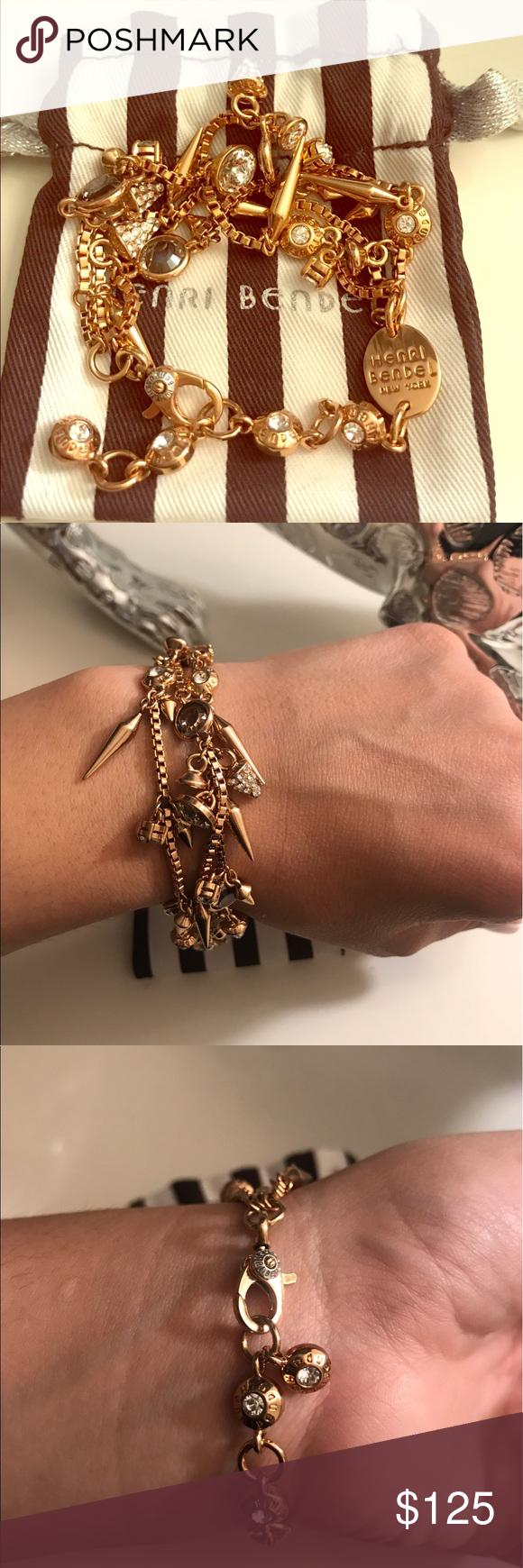 a764ed50c595c Henri Bendel Charm bracelet- almost new,great deal Henri Bendel ...