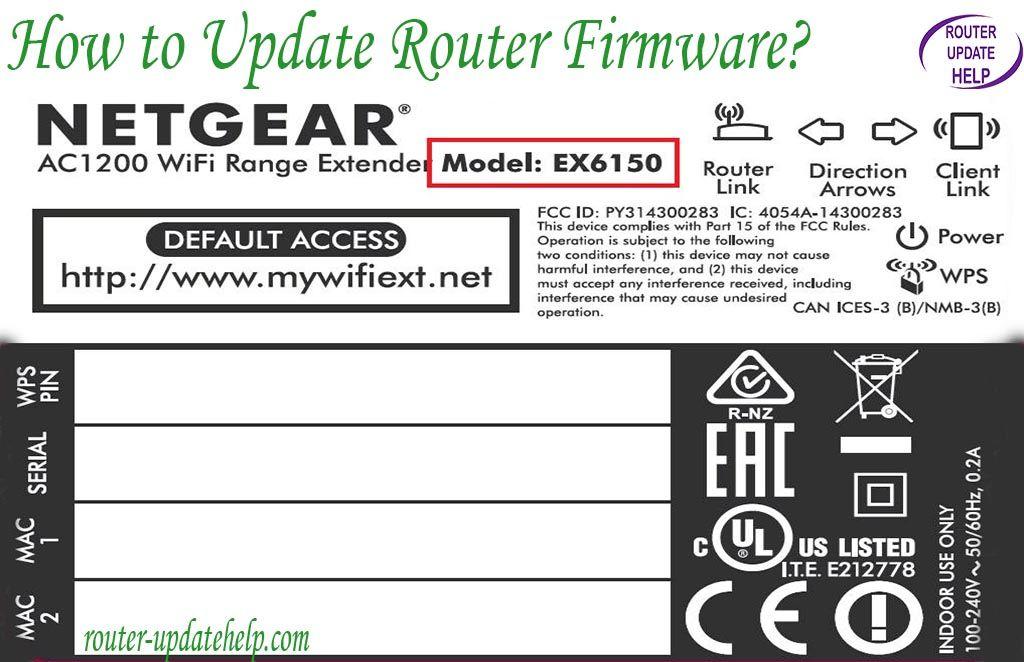 firmware update netgear router how long time