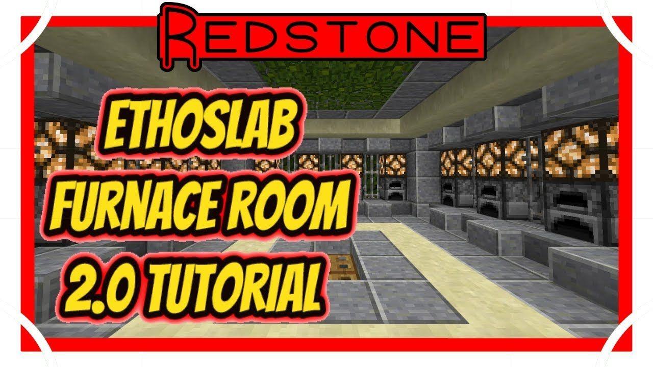 Etho's Furnace Room 2.0 [Minecraft Bedrock Edition