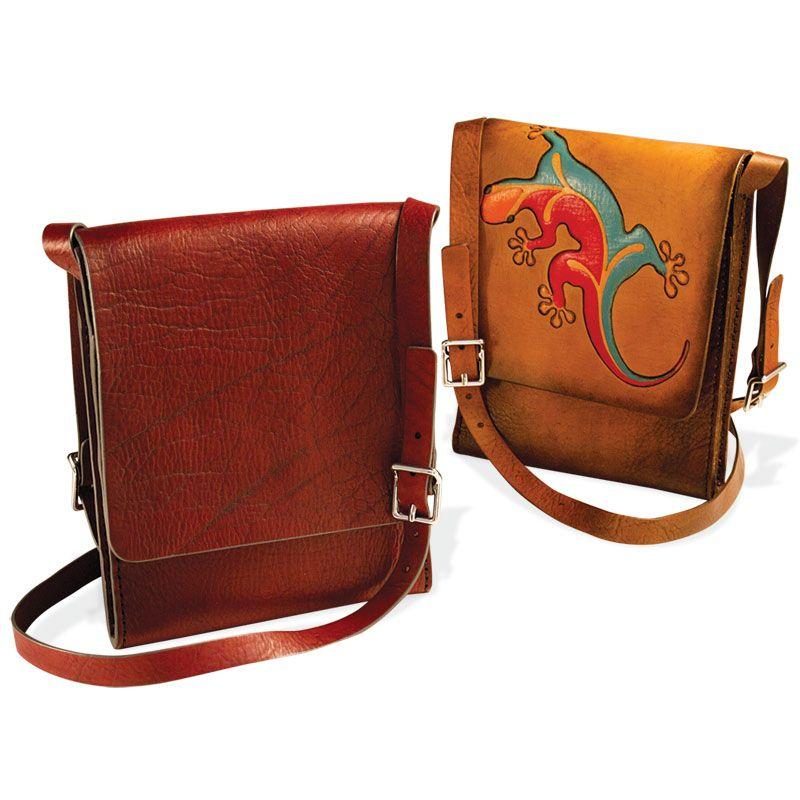 Messenger Bag Kit Vertical Vertical Messenger Bag Tooled