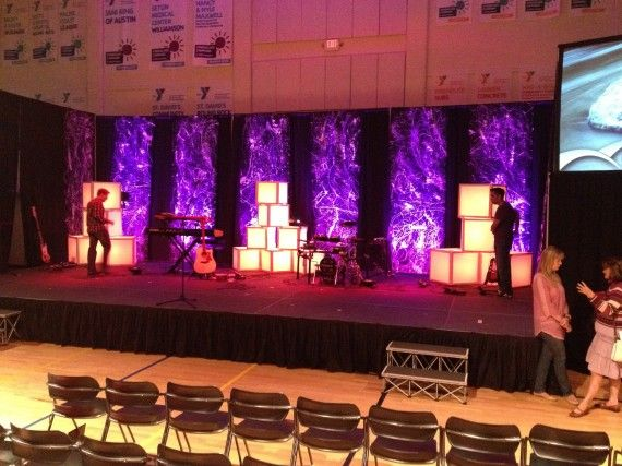 Diffuse The Light Boxes | Church Stage Design Ideas