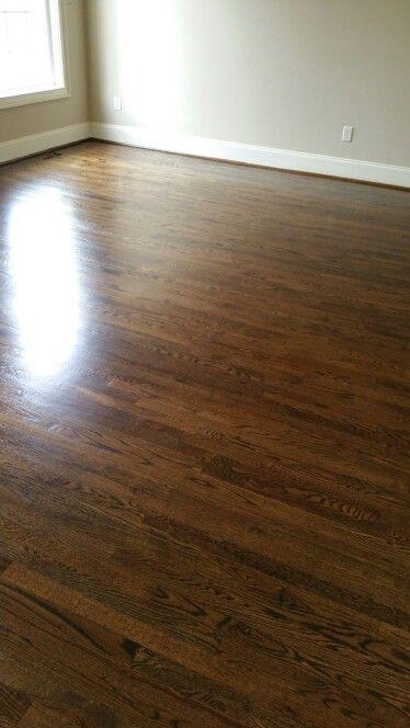 Duraseal Dark Walnut Semi Gloss Finish Refinishing Floors Wood Floors Flooring