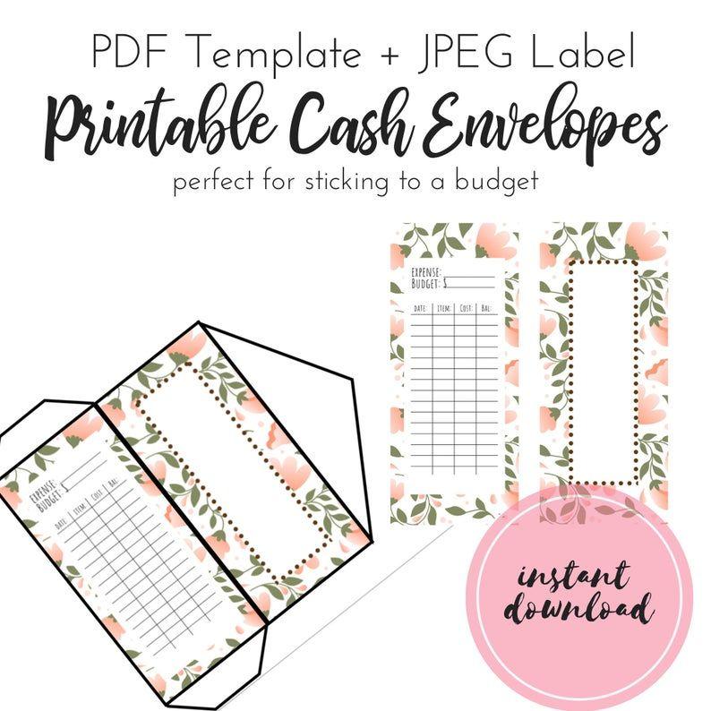 Cash Envelope System, Money Envelopes, Cash Envelopes