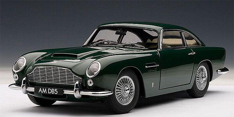 1965 Aston Martin Db5 British Racing Green зеленый