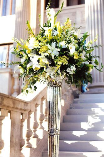 Wedding Ceremony Flower Arrangements Flowers Blog