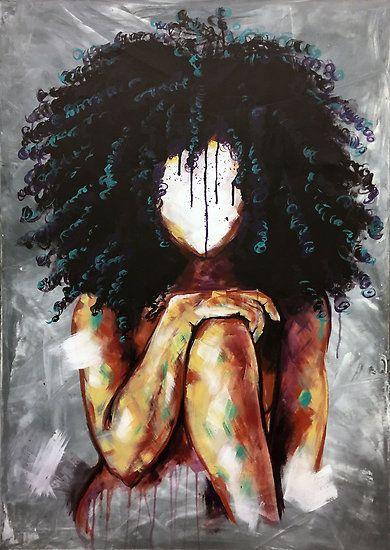 07583fcd1 Naturally I | Poster in 2019 | Hairrr | Black girl art, Natural hair ...
