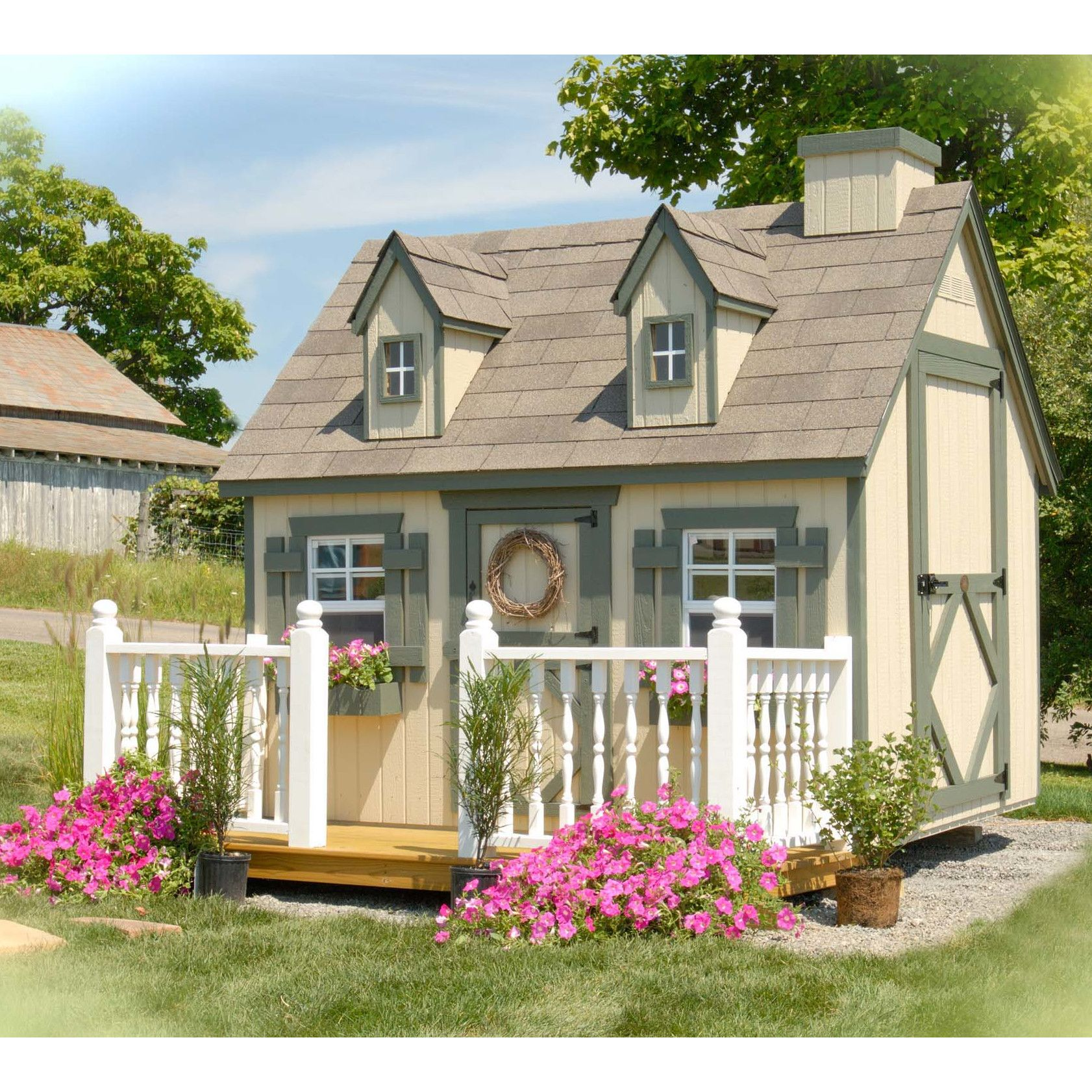 Little Cottage Company Cape Cod Playhouse Play Houses Little Cottage Build A Playhouse